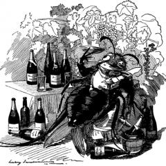 Vignetta del settimanale britannico Punch, 6 settembre 1890