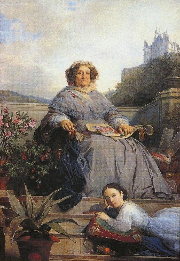 Ritratto di Madame Clicquot Ponsardin